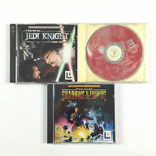 Jeu Star Wars Jedi Knight Dark Forces 2 II + Mysteries of The Sith Gold Sur PC