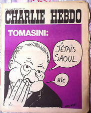 Charlie Hebdo n°14 du 22/2/1971; couverture Wolinski; Tomasini