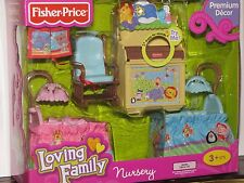 Fisher-Price Loving Family Twins Nursery, New in Box