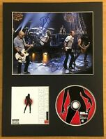 Velvet Revolver  **FULLY HAND SIGNED**  16x12 mounted display ~ AUTOGRAPHED
