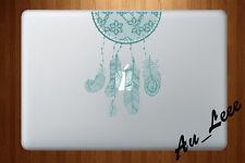 Macbook Air Pro Vinyl Skin Sticker Decal- Aqua Dream Catcher #CMAC097