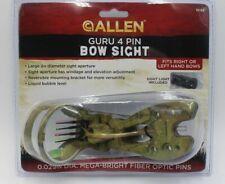New Allen 15192 Guru 4 Pin Bow Sight Camo, Factory Sealed, Free Shipping