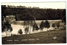RPPC c 1940's Missouri OZARK BEACH DAM Vintage BLAKE Real Photo EKC Postcard