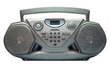 "Philips AZ1500 CD AM/FM Stereo Digital Radio Cassette Boombox ""Ghetto Blaster"""