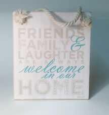 Welcome Plaque Friendship Christmas Gift Ideas For Her Friends WH002W
