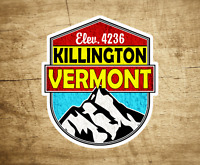 "Killington Vermont Decal Sticker  3"" x 3.4"" Skiing Snowboarding"