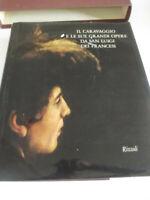 IL CARAVAGGIO E LE SUE GRANDI OPERE SA SAN LUIGI DEI FRANCESI RIZZOLI 1971-.