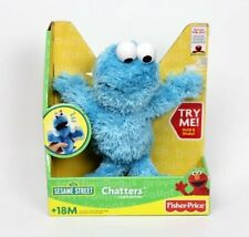 "2007 Fisher-Price Cookie Monster Chatters Plush Talking Shake It Up Doll 10"" NEW"
