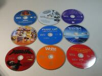 Lot of 9 Nintendo Wii Games Disc Only - Billy Wizard, Tron, Kung Fu Panda, Puppy