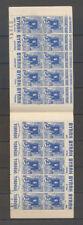 ALGERIE CARNET 65c. Bleu, Casbah, S.34 + S.70 avec sigle PTT, SUP X4069
