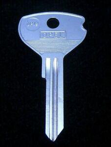 U62VP OPEL KEY BLANK Ignition + Doors 1964-1975 GT Deluxe Kadett Manta Opel