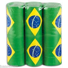 3x Brasil Bandera Rio OLIMPIADAS PUB FIESTA MANTA Contenedor Decoración 4M