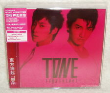 TOHOSHINKI TVXQ TONE Taiwan Limited CD+DVD+Card (Red Ver.) Dong Bang Shin Ki