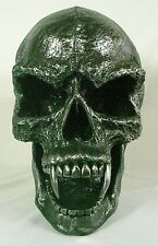 LARGE VAMPIRE SKULL WALL PLAQUE Resin NEW Morbius Monster Gothic Fantasy Horror