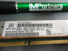 Netlist NW9257RD120DA-D27JSG 2GB DDR1 RDIMM PC2700R. Brand New!