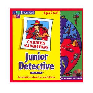 Carmen Sandiego Junior Detective  Meet children from all over the world   NEW CD