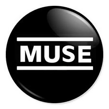 "Muse Logo 25mm 1"" Pin Badge Button Alternative Rock Band Bellamy"