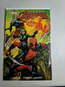 The Uncanny Avengers #1 now with more Deadpool