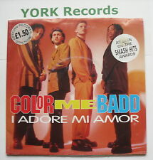 """COLOR ME BADD - I Adore Mi Amor *POSTER SLEEVE* - Ex Con 7"""" Single Giant W 0076W"""