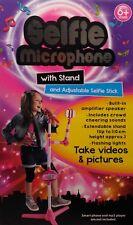 SelfieMic Selfie Mic Stick Microphone Selfie Microphone with Stand Birthday Xmas