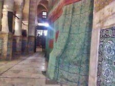 ***LAST ONE**RARE*** Prophets Chamber Curtain Model Masjid Al-Nabawi Rawda Kiswa