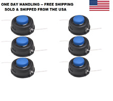 6X SIX Husqvarna T35 Auto Feed Tap Trimmer Heads 12mm Dual Line 531300194