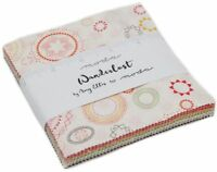"Wanderlust Moda Charm Pack 42 100% Cotton 5"" Precut Fabric Quilt Squares"