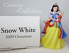 Grolier 2009 Snow White Annual Disney Ornament Dated Porcelain Scholastic NIB