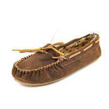 Pantofole da donna mocassini marrone