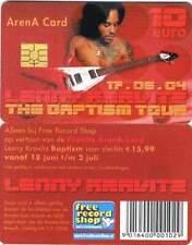 Arenakaart A059-01 10 euro: Lenny Kravitz Baptism