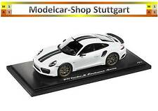 Porsche 911 turbo s Exclusive Edition Spark 1:18 carraraweißmetallic Ltd. Edition