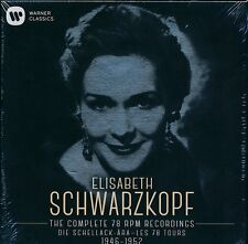 Elisabeth Schwarzkopf Complete 78 RPM Recordings 1946- 1952 CD NEW