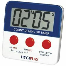 Hygiplas Magnetic Countdown Timer 63x63mm Kitchen Catering Food Preparation
