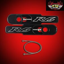 """2010 Yamaha YZF-R6 Swingarm Extensions, & 36"""" Brake Line, YZF-R6"""