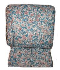Chaps By Ralph Lauren Blue & Mauve Floral 3P King Comforter Set New