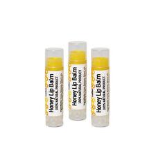 Lip Balm CERA D'API 100% naturale puro miele, 5 G-Confezione da 3