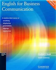 Cambridge ENGLISH FOR BUSINESS COMMUNICATION Second Edition Student's Book @NEW@