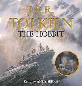 J.R.R. Tolkien - The Hobbit - Audio CD read by Andy Serkis  *NEW*  + FREE P&P