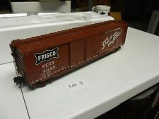 Lot 03: Atlas Frisco  #7098 50' Double Door Box Car 3-rail