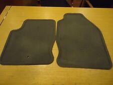 2000-07 FORD FOCUS FRONT CARPET FLOOR MATS, MED DK FLINT, OEM #2M51-18323-AB32N4