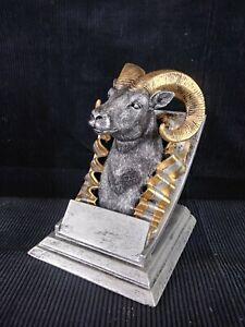 """Mascot Resin """"Ram"""" Trophy Award  (71113-GS) Free Engraving"""