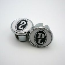 Vintage Style, Dave Lloyd, Chrome Racing Bar Plugs, Caps, Repro