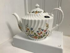 AYNSLEY FINE BONE CHINA ENGLAND ~COTTAGE GARDEN TEAPOT TEA POT