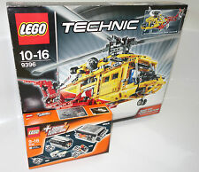 LEGO ® Technic Set 9396+8293 Elicottero & powerfunctions _ Helicopter & powerfunctions