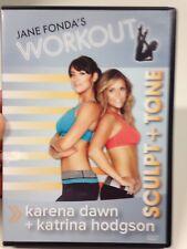 Jane Fonda's Workout DVD - Sculpt + Tone With Karena Dawn & Katrina Hodgson
