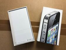 Apple iPhone 4s Embalaje EMBALAJE ORIGINAL envases vacíos cartón OVP Negro