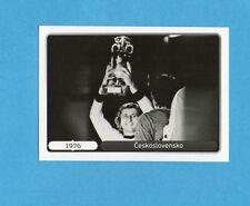 PANINI-EURO 2012-Figurina n.522- ESULTANZA -CECOSLOVACCHIA 76 -NEW WHITE BOARD