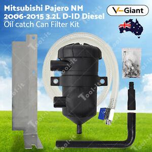 OZ 200 Oil Catch Can Filter Kit for Mitsubishi Pajero NM NX 4M41 3.2L 2006-2015