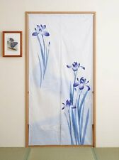 JAPANESE Noren Curtain Murder flower NEW LONG SIZE MADE IN JAPAN