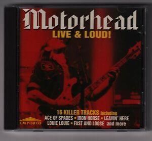 CD MOTORHEAD LIVE & LOUD